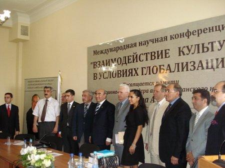 Beynəlxalq Elmi Konfrans - Moskva