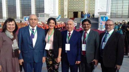Azərbaycanlı alim Türkmənistanda beynəlxalq konfransda iştirak edib