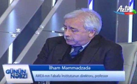 F.ü.e.d., prof. İlham Məmmədzadə