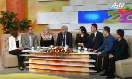 Fəlsəfə İnstitutunun əməkdaşları çin həmkarları ilə birlikdə AzTV-nin