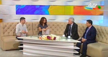 AMEA Fəlsəfə İnstitutunun əməkdaşları AZTV-nin