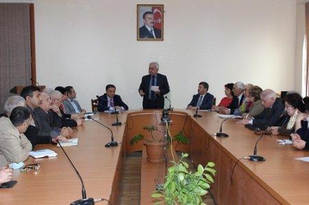 """""""Maarifçilik və Cümhuriyyət"""" mövzusunda elmi seminar keçirilib"""