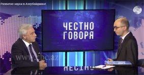 Fəlsəfə İnstitutunun direktoru, professor İlham Məmmədzadə CBC TV Azerbaijan televiziyasının