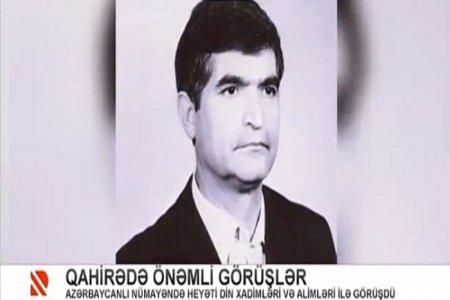 Misir Prezidentinin müşaviri azərbaycanlı alim Zakir Məmmədovun xidmətlərindən danışdı