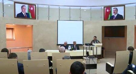 Научная конференция на тему «Толерантность в исламской культуре и её роль в развитии культуры человечества (на примере Азербайджана)»