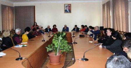 Состоялся  семинар на тему «Три великих гения тюркского мира – Али-бек Гусейнзаде, Ахмед-бек Агаоглу, Хильми Зия Улькен»