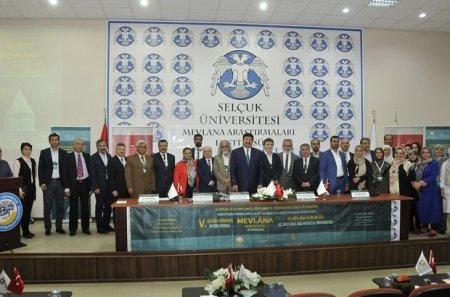 Eynulla Madatli took part in the V International Mevlana Symposium held in Konya
