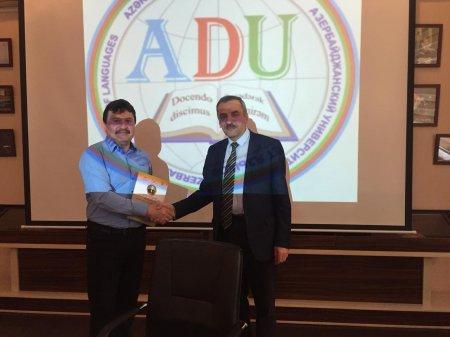 Ведущий научный сотрудник Института философии Давуд Гашимов принял участие в Международной научной конференции