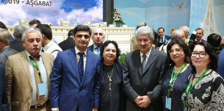 Ilham Mammadzadeh attended the XIV Forum of Creative and Scientific Intelligentsia of the CIS member states