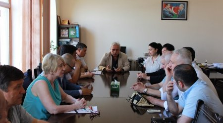 Китайские ученые были гостями Института философии НАНА