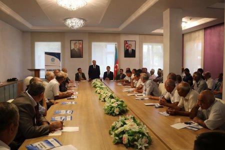 Профессор Сакит Гусейнов принял участие в семинарах, проводившихся в Билясуваре и Нефтчале