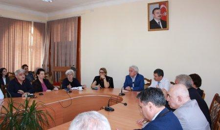 """""""Millət, milli mədəniyyət və milli fəlsəfə: anlayışların təhlili"""" mövzusunda seminar keçirildi"""