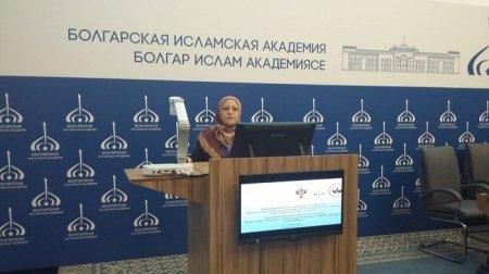 Fəlsəfə İnstitutunun əməkdaşı İradə Zərqanayeva Tatarıstanda beynəlxalq elmi konfransda iştirak etmişdir