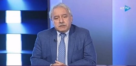Professor İlham Məmmədzadə Azərbaycan televiziyasının qonağı olub