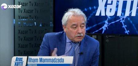 Professor İlham Məmmədzadə Xəzər tv-nin