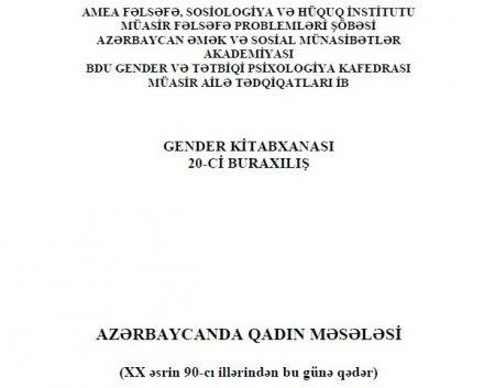 AZƏRBAYCANDA QADIN MƏSƏLƏSİ