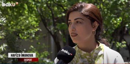 Hafizə İmanova Baku.TV-yə iqlim dəyişmələrinin təsirindən danışıb