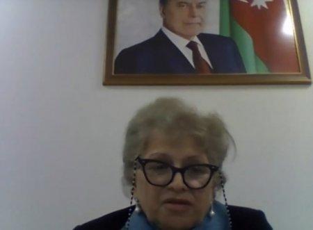 Professor Rəna Mirzəzadə videokonfransda gender bərabərliyindən danışıb